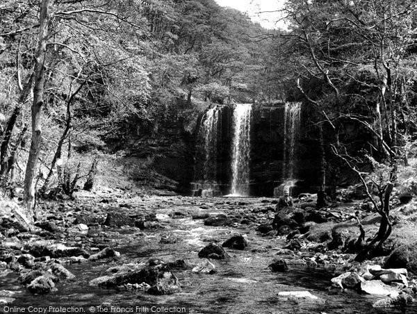 Photo of Aberdare, Ystradfellte Falls c.1955