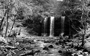 Aberdare, Ystradfellte Falls c1955