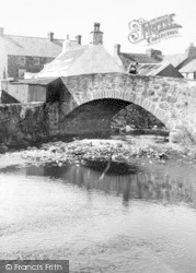 Aberdaron, A View In The Village c.1960
