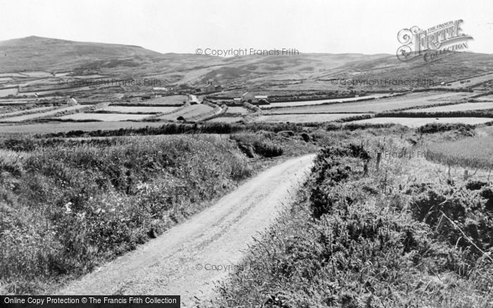 Photo of Aberdaron, Anelog Mountain  c.1955