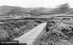 Aberdaron, Anelog Mountain  c.1955