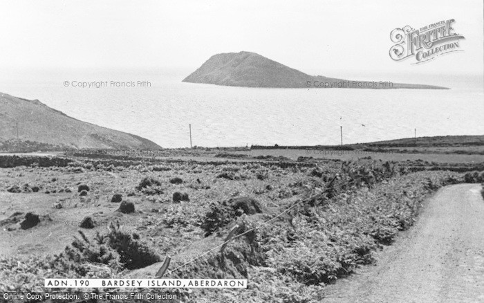 Photo of Aberdaron, Bardsey Island c.1960