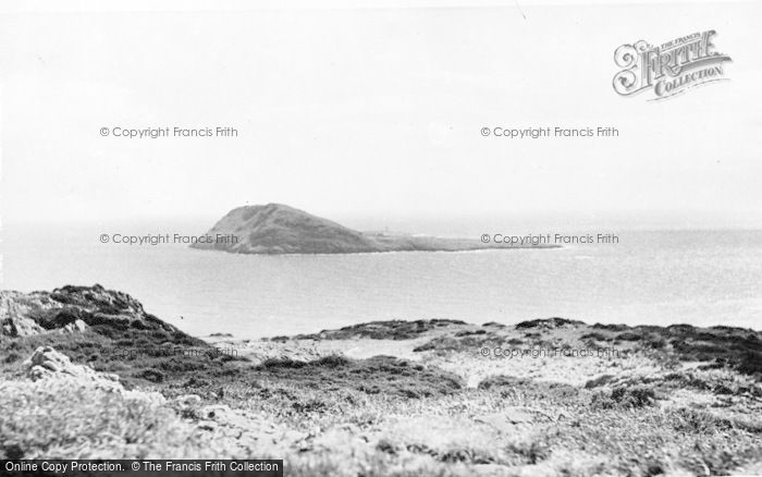 Photo of Aberdaron, Bardsey Island From The Mainland c.1960