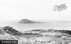 Aberdaron, Bardsey Island From The Mainland c.1960
