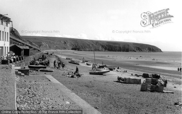Photo of Aberdaron, Beach c.1960