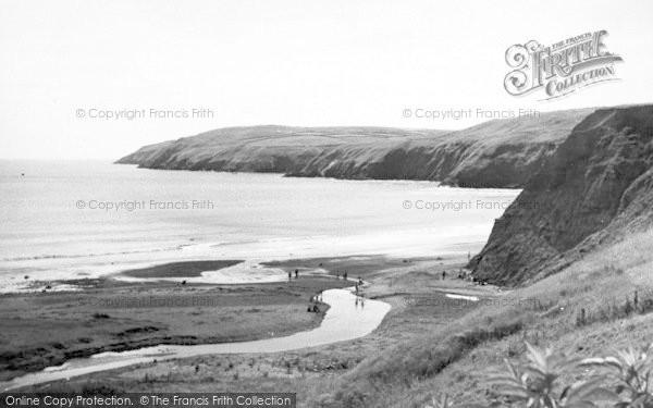 Photo of Aberdaron, Braich Y Pwll From Pensarn Hill c.1960