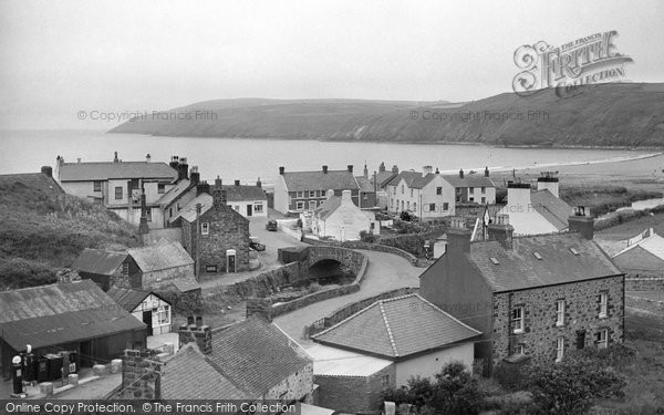 Photo of Aberdaron, c.1955