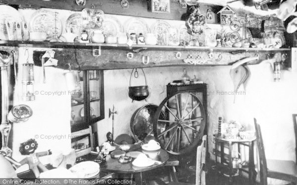 Photo of Aberdaron, Cafe Interior c.1960