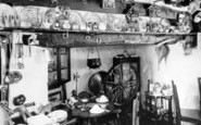 Aberdaron, Cafe Interior c.1960