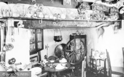 Aberdaron, Cafe Interior c.1960