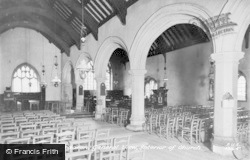 Aberdaron, Church Interior c.1935