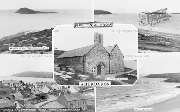 Photo of Aberdaron, Composite c.1960