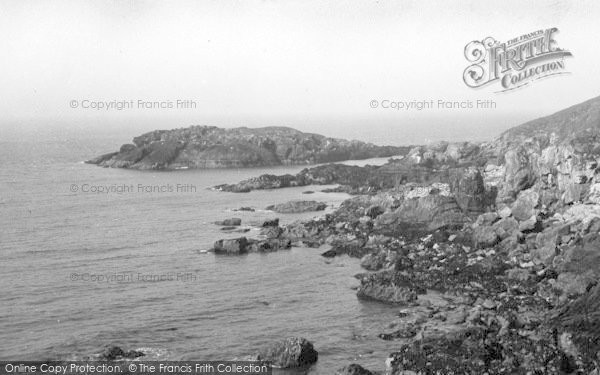 Photo of Aberdaron, Dinas Beach From Porth Orion c.1936