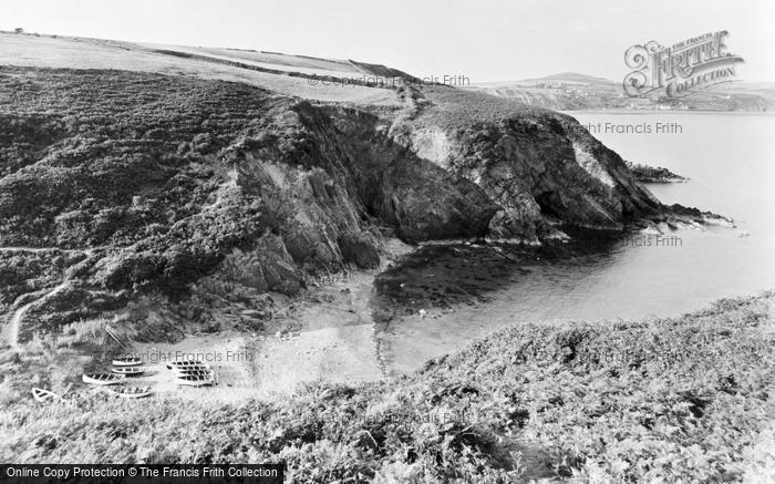 Photo of Aberdaron, Fisherman's Cove c.1955