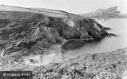 Aberdaron, Fisherman's Cove c.1955