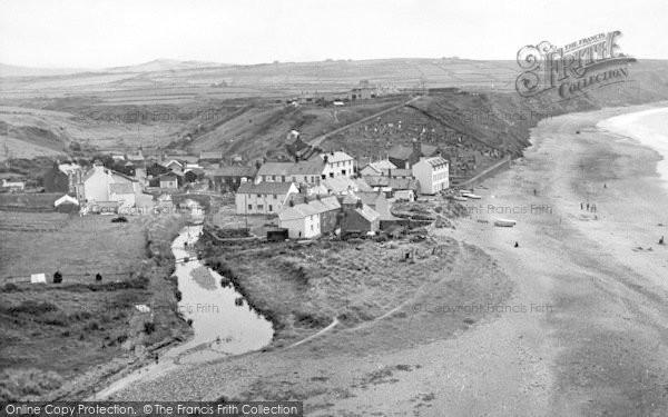 Photo of Aberdaron, General View c.1955