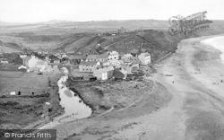 Aberdaron, General View c.1955
