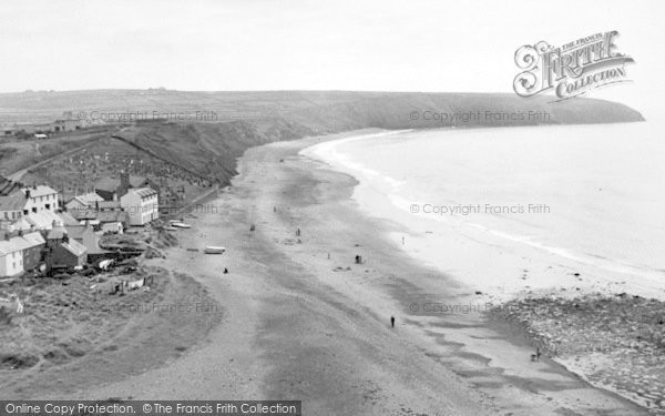 Photo of Aberdaron, General View c.1955