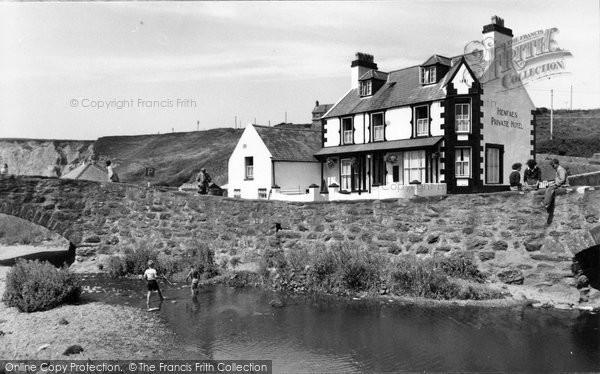 Photo of Aberdaron, Henfaes Hotel c.1960