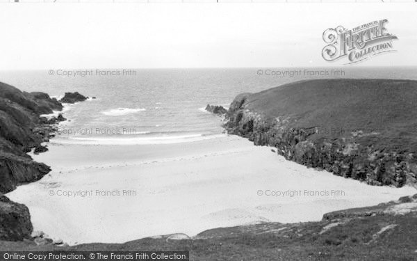 Photo of Aberdaron, Porth Iago c.1960