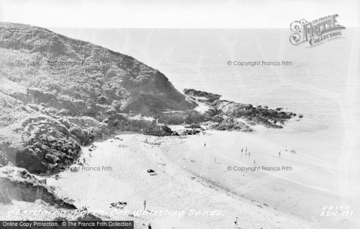 Photo of Aberdaron, Porth Oer, Whistling Sands 1960