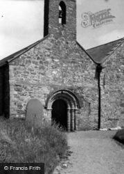Aberdaron, St Hywyn's Church 1961