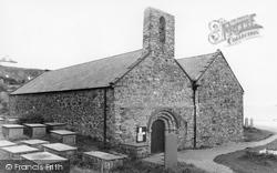 St Hywyn's Church c.1935, Aberdaron