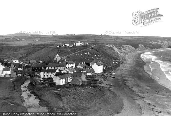 Photo of Aberdaron, The Bay c.1960