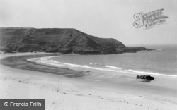 Aberdaron, The Bay, Whistling Sands 1936