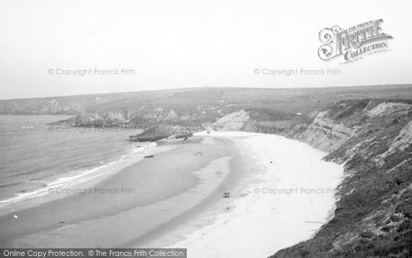 Photo of Aberdaron, The Bay, Whistling Sands c.1936