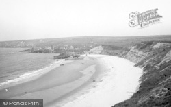 Aberdaron, The Bay, Whistling Sands c.1936