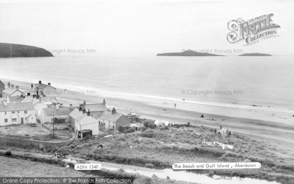 Photo of Aberdaron, The Beach And Gull Islands c.1955