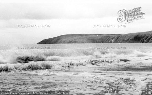Photo of Aberdaron, The Beach And Headland c.1960