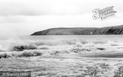 Aberdaron, The Beach And Headland c.1960