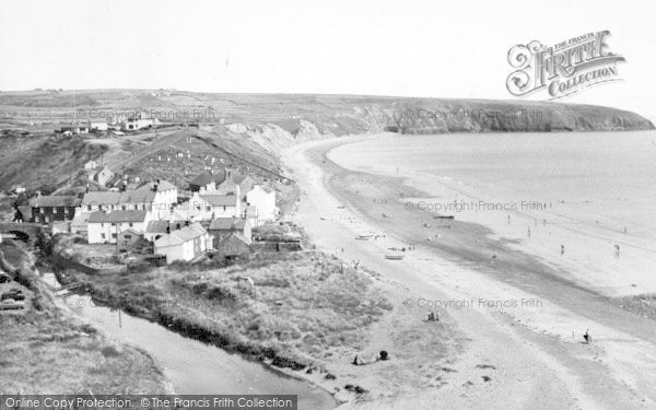 Photo of Aberdaron, The Beach c.1960