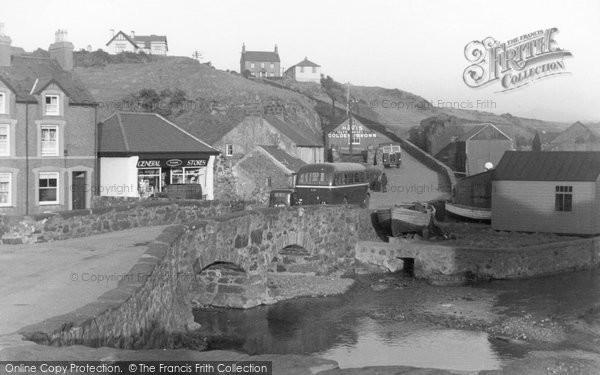 Photo of Aberdaron, The Bridge c.1935