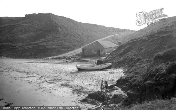 Photo of Aberdaron, The Cafe, Whistling Sands 1936