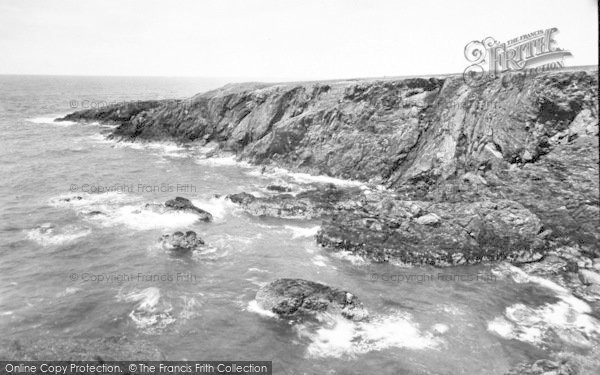 Photo of Aberdaron, The Rocks, Porth Iago c.1960