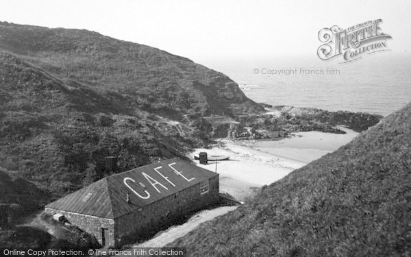 Photo of Aberdaron, The Rocks, Whistling Sands c.1936