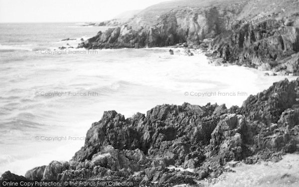 Photo of Aberdaron, The Rocks, Whistling Sands c.1960