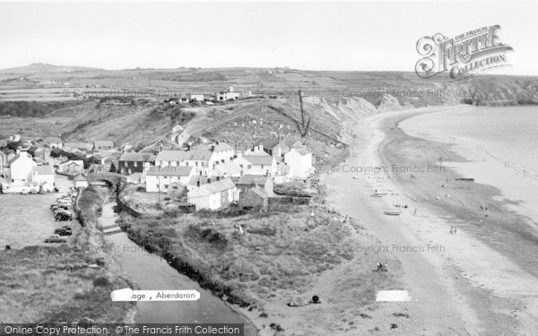 Photo of Aberdaron, The Village c.1960