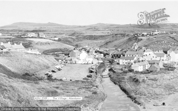 Photo of Aberdaron, The Village c.1960