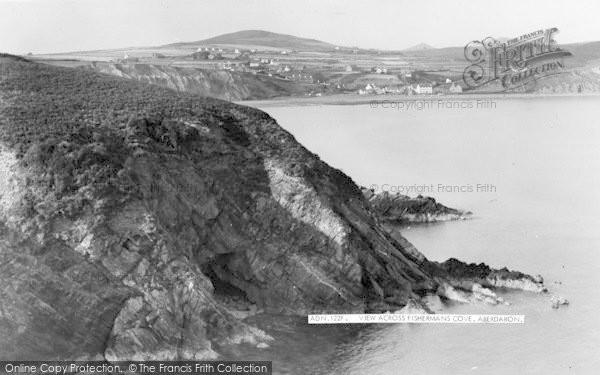 Photo of Aberdaron, View Across Fisherman's Cove c.1955