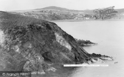 Aberdaron, View Across Fisherman's Cove c.1955