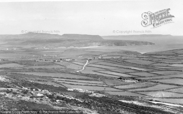 Photo of Aberdaron, View From Mynydd Mawr c.1960