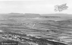 Aberdaron, View From Mynydd Mawr c.1960