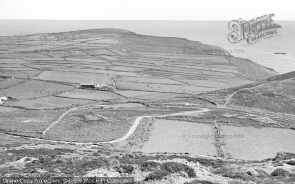 Photo of Aberdaron, Views From Mynydd Mawr c.1960