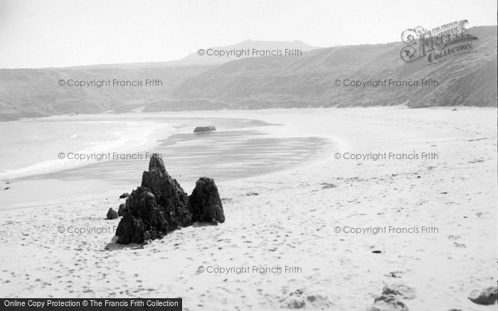 Photo of Aberdaron, Whistling Sands 1936