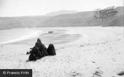 Aberdaron, Whistling Sands 1936
