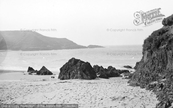 Photo of Aberdaron, Whistling Sands c.1936